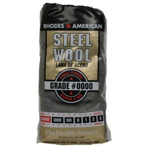 Steel Wool - #0000 Super Fine - 8-Pack