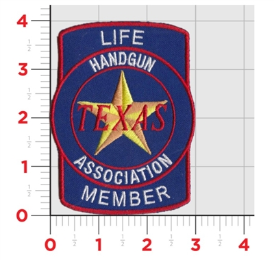 TxHGA Life Member Patch