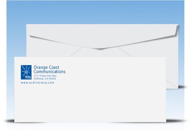 standard window envelope template - 9 regular envelopes 1 pms color print 10036pms