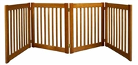 "Amish Handcrafted 27"" Highlander: 4 Panel Gate: Free Shipping"