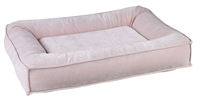 Bowsers Divine Futon Dog Bed Blush: Free Shipping