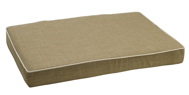 Bowsers Isotonic Memory Foam Mattress Bed Flax: Free Shipping