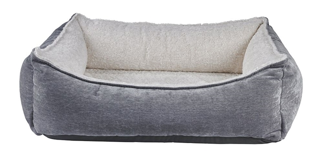 Bowsers Oslo Ortho Dog Bed Pumice: Free Shipping