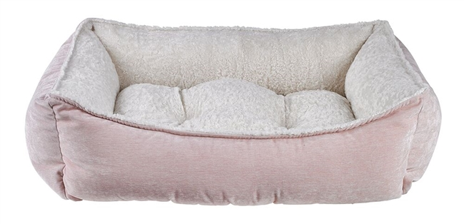 Bowsers Scoops Orthopedic Dog Bed Blush: Free Shipping