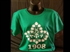 AKA SS GREEN BADGE TSHIRT