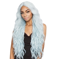 Glamourtress, wigs, weaves, braids, half wigs, full cap, hair, lace front, hair extension, nicki minaj style, Brazilian hair, crochet, hairdo, wig tape, remy hair, Lace Front Wigs, Remy Hair, Isis Red Carpet Synthetic Hair Lace Front Wig - RCP7008 BEA 30