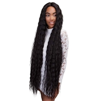 Glamourtress, wigs, weaves, braids, half wigs, full cap, hair, lace front, hair extension, nicki minaj style, Brazilian hair, crochet, hairdo, wig tape, remy hair, Lace Front Wigs, Remy Hair, Janet Collection Synthetic Deep Part Wig - SUPER DEEP