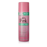 Glamourtress, wigs, weaves, braids, half wigs, full cap, hair, lace front, hair extension, nicki minaj style, Brazilian hair, crochet, hairdo, wig tape, remy hair, Lace Front Wigs, Remy Hair, Human Hair, Lusters Pink Holding Spray 12.4oz