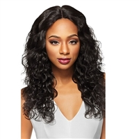 Glamourtress, wigs, weaves, braids, half wigs, full cap, hair, lace front, hair extension, nicki minaj style, Brazilian hair, crochet, hairdo, wig tape, remy hair, Outre Simply 100% Non-processed Brazilian Human Hair 4x4 Hand-Tied Lace Front Natural Body
