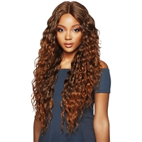 Glamourtress, wigs, weaves, braids, half wigs, full cap, hair, lace front, hair extension, nicki minaj style, Brazilian hair, crochet, hairdo, wig tape, remy hair, Lace Front Wigs, Remy Hair, Outre Synthetic L-Part Swiss Lace Front Wig Amara