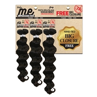 Zury Sis Only Me 100% Brazilian Virgin Remy Weave Star (14/16/18)