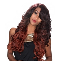 Glamourtress, wigs, weaves, braids, half wigs, full cap, hair, lace front, hair extension, nicki minaj style, Brazilian hair, crochet, hairdo, wig tape, remy hair, Lace Front Wigs, Remy Hair, Zury Sis Glam Synthetic Hair Pre Tweezed Part Wig - DIVA H VIOL