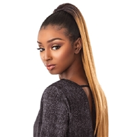 Glamourtress, wigs, weaves, braids, half wigs, full cap, hair, lace front, hair extension, nicki minaj style, Brazilian hair, crochet, hairdo, wig tape, remy hair, Lace Front Wigs, Remy Hair,Sensationnel Synthetic Ponytail Instant Pony - SLEEK STRAIGHT 30