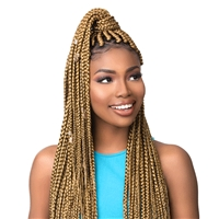 Glamourtress, wigs, weaves, braids, half wigs, full cap, hair, lace front, hair extension, nicki minaj style, Brazilian hair, crochet, hairdo, wig tape, remy hair, Lace Front Wigs, Remy Hair, Sensationnel Synthetic Braid 3X Ruwa Pre-Layered Braid 48