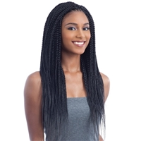 Glamourtress, wigs, weaves, braids, half wigs, full cap, hair, lace front, hair extension, nicki minaj style, Brazilian hair, crochet, hairdo, wig tape, remy hair, Lace Front Wigs, Remy Hair, Freetress Synthetic Braid 2X Nigerian Pre-Stretched Twist 24""