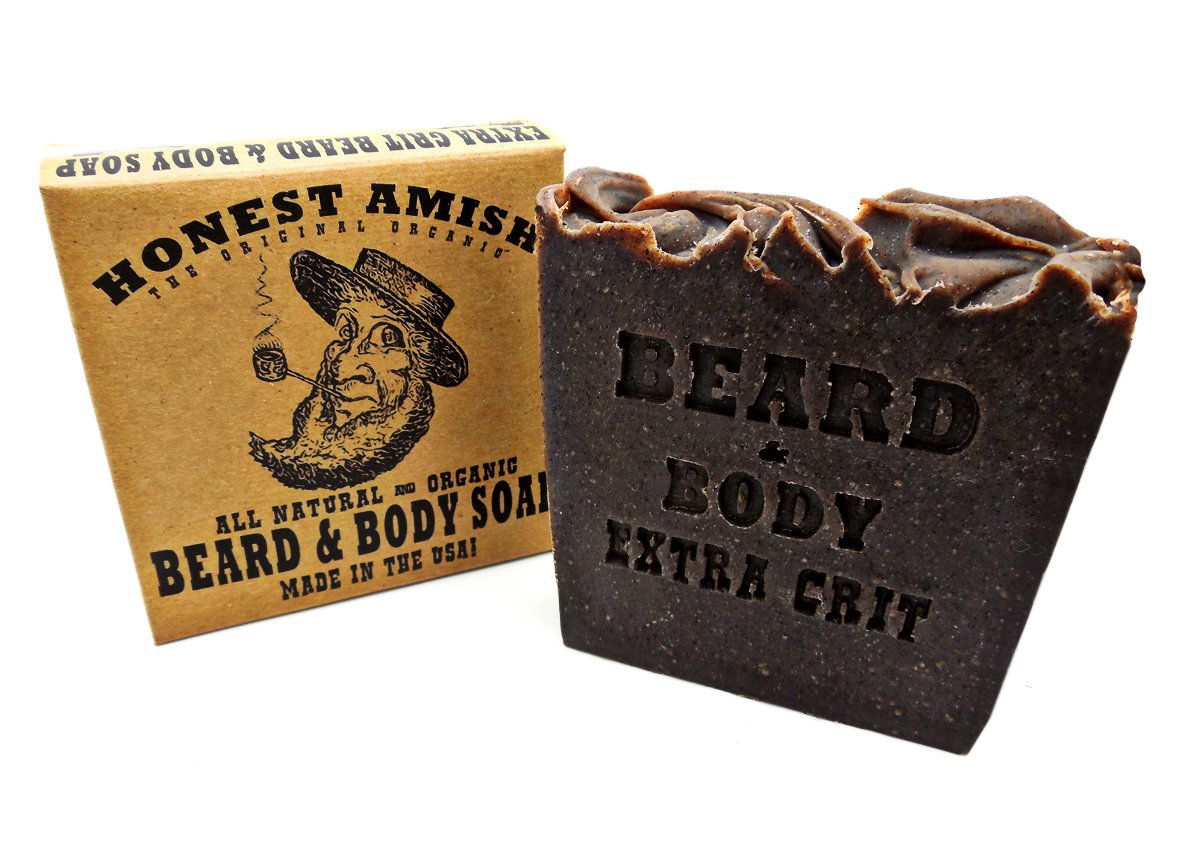 Extra Grit Beard and Body Soap by Honest Amish