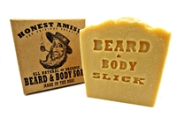 Slick Beard and Body Soap by Honest Amish