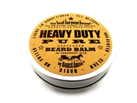 Honest Amish - Heavy Duty PURE- Fragrance Free - 2 ounce tin - Beard Conditioner