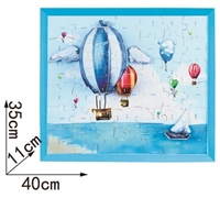 Balloon Magic-puzzle/ CubicFun B468-22 3D Puzzle 92 Pieces