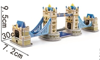 Gemini London Bridge Magic-puzzle/ CubicFun B668-15 3D Puzzle 33 Pieces