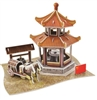 China Guting Magic-puzzle/ CubicFun B668-50 3D Puzzle 59 Pieces