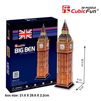 Big Ben CubicFun C703h 3D Puzzle 30 Pieces