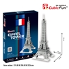Eiffel Tower CubicFun C705h 3D Puzzle 33 Pieces