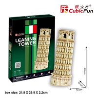 Pisa Tower CubicFun C706h 3D Puzzle 13 Pieces
