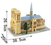 Notre Dame De Paris Magic-puzzle/ CubicFun G168-4 3D Puzzle 90 Pieces