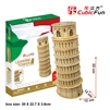 Leaning Tower Of Pisa CubicFun MC053h 3D Puzzle 30 Pieces
