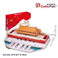 Tian An Men CubicFun MC126h 3D Puzzle 84 Pieces