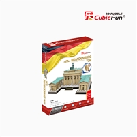 3D Puzzle of Brandenburg Gate/Tor Berlin Germany Cubicfun MC207h 150 Pieces