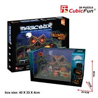 Halloween Night CubicFun OM3602h 3D Puzzle 25 Pieces