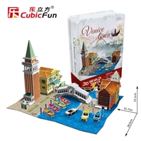 3D Puzzle Venice Town Cayuga County, New York, United States Cubicfun