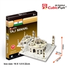 Taj Mahal(India) CubicFun S3009h 3D Puzzle 32 Pieces