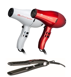 4800 Blow Dryer + 2300 Titanium-Ionic Flat Iron