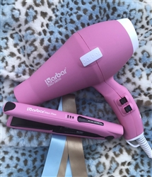 BARBAR Pro Italy 3800 Ionic Charger Blow Dryer Pink
