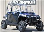 Pro Armor RZR XP4 900 & RZR 4 DOORS WITH OR WITHOUT CUTOUTS - BLACK OR BRUSHED ALUMINUM