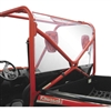Quadboss UTV Side by Side Rear Shield Back Panel RZR Commander Teryx