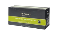 Taylors of Harrogate Fairtrade Breakfast  - 100 Wrapped Tea Bags