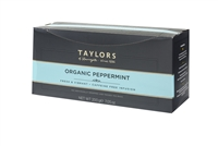 Taylors of Harrogate Organic Peppermint  - 100 Wrapped Tea Bags