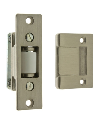Heavy Duty Silent Roller Latch with Rectangle Strike
