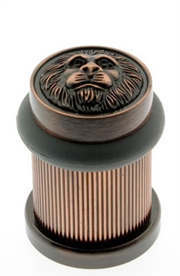 13090 Lion Head Bullet Door Bumper/Stop