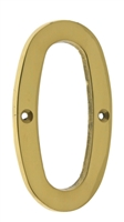 "23020 4"" Cast Solid Brass Number: #0"