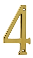 "23024 4"" Cast Solid Brass Number: #4"