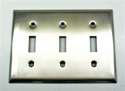 Square Triple Switch Plate