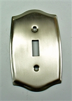 Round Single Switch Plate