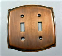 Round Double Switch Plate