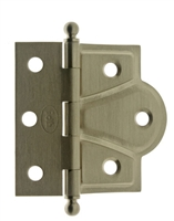 "80001 2-1/2"" x 2-3/4"" Cabinet & Door Half Surface Offset Hinge (PAIR)"
