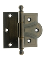 "80002 3"" x 3-3/4"" Cabinet & Door Half Surface Offset Hinge (PAIR)"